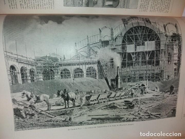 Libros antiguos: ESPECTACULAR EXPOSICION UNIVERSAL PARIS 1900 MONUMENTAL LIBRO 37 cm - Foto 28 - 198258843