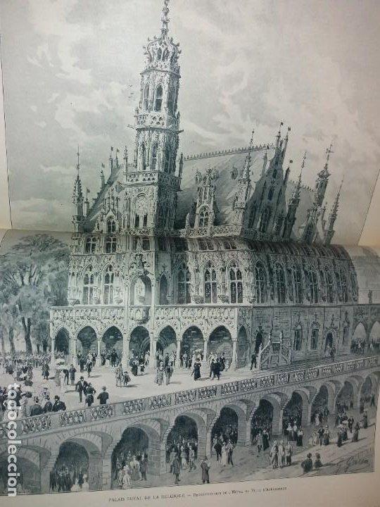 Libros antiguos: ESPECTACULAR EXPOSICION UNIVERSAL PARIS 1900 MONUMENTAL LIBRO 37 cm - Foto 30 - 198258843