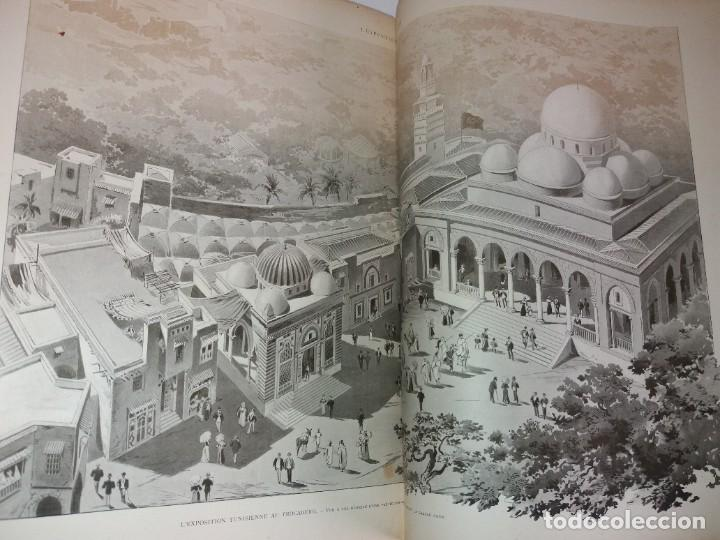 Libros antiguos: ESPECTACULAR EXPOSICION UNIVERSAL PARIS 1900 MONUMENTAL LIBRO 37 cm - Foto 32 - 198258843