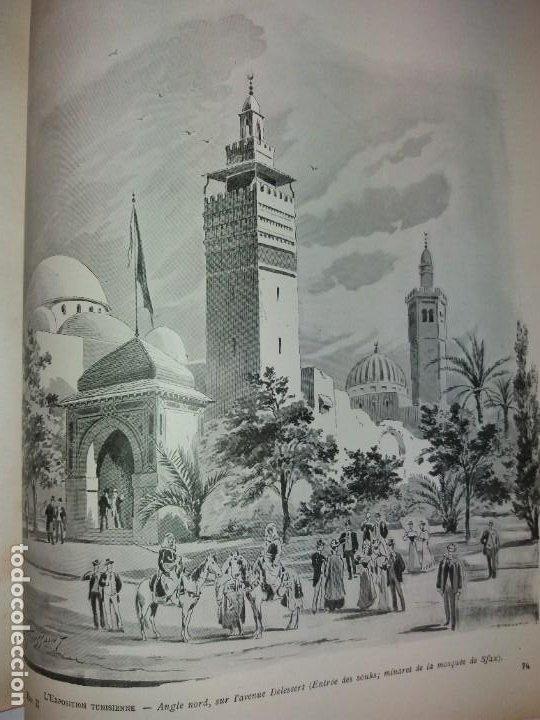 Libros antiguos: ESPECTACULAR EXPOSICION UNIVERSAL PARIS 1900 MONUMENTAL LIBRO 37 cm - Foto 33 - 198258843