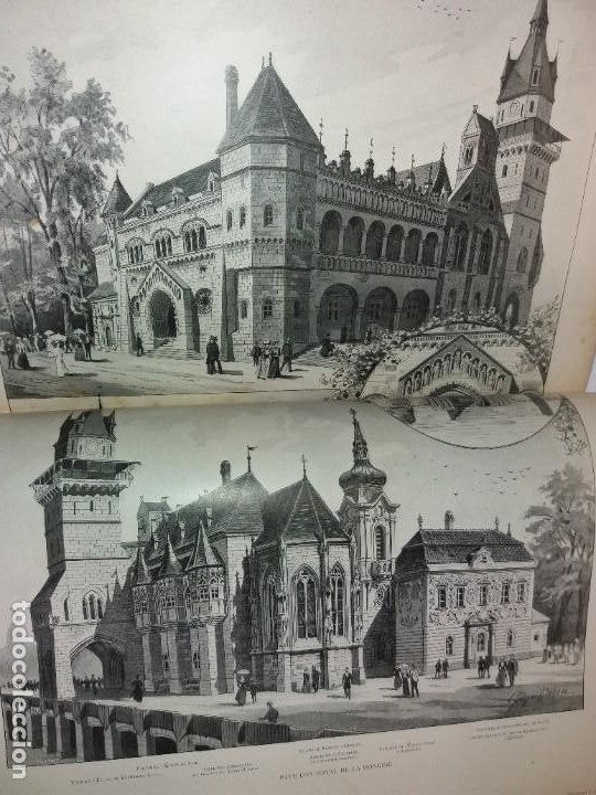Libros antiguos: ESPECTACULAR EXPOSICION UNIVERSAL PARIS 1900 MONUMENTAL LIBRO 37 cm - Foto 34 - 198258843