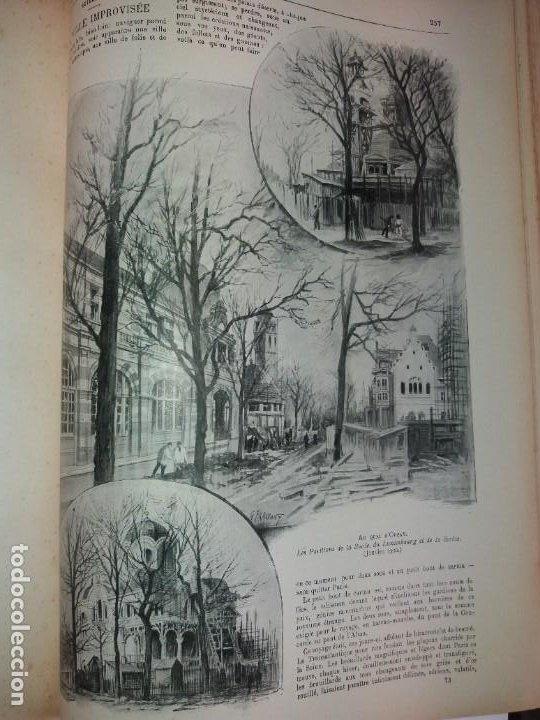 Libros antiguos: ESPECTACULAR EXPOSICION UNIVERSAL PARIS 1900 MONUMENTAL LIBRO 37 cm - Foto 35 - 198258843