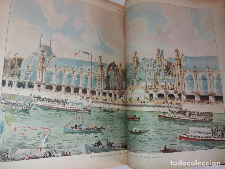 Libros antiguos: ESPECTACULAR EXPOSICION UNIVERSAL PARIS 1900 MONUMENTAL LIBRO 37 cm - Foto 36 - 198258843