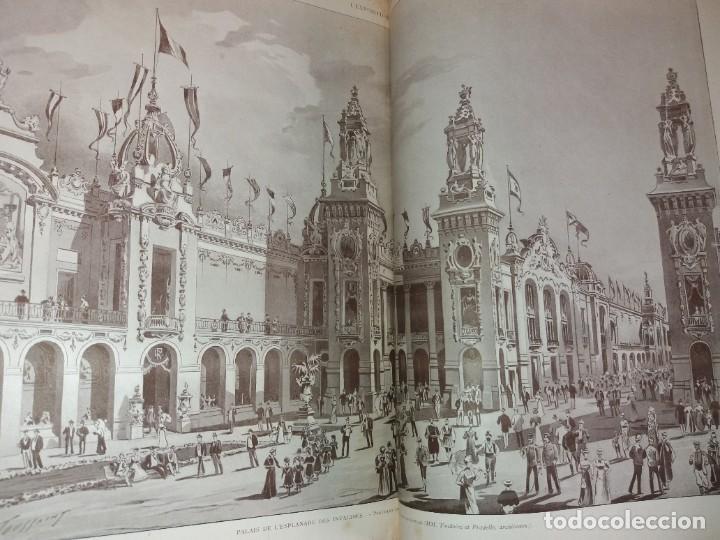 Libros antiguos: ESPECTACULAR EXPOSICION UNIVERSAL PARIS 1900 MONUMENTAL LIBRO 37 cm - Foto 40 - 198258843