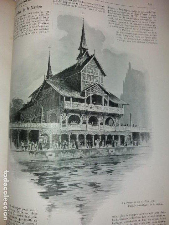 Libros antiguos: ESPECTACULAR EXPOSICION UNIVERSAL PARIS 1900 MONUMENTAL LIBRO 37 cm - Foto 41 - 198258843