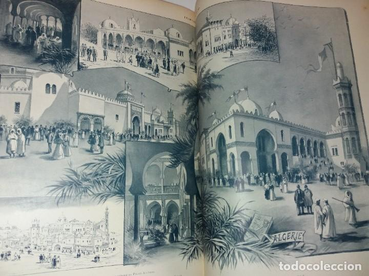 Libros antiguos: ESPECTACULAR EXPOSICION UNIVERSAL PARIS 1900 MONUMENTAL LIBRO 37 cm - Foto 42 - 198258843