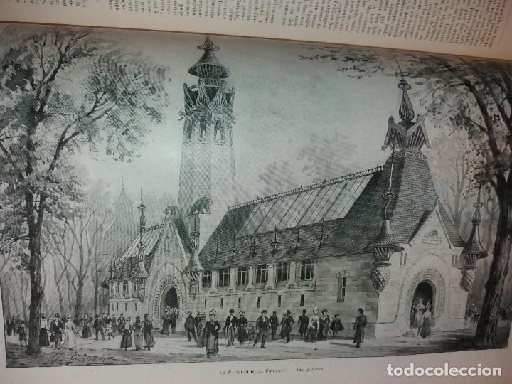 Libros antiguos: ESPECTACULAR EXPOSICION UNIVERSAL PARIS 1900 MONUMENTAL LIBRO 37 cm - Foto 43 - 198258843