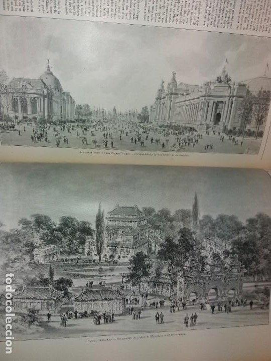 Libros antiguos: ESPECTACULAR EXPOSICION UNIVERSAL PARIS 1900 MONUMENTAL LIBRO 37 cm - Foto 46 - 198258843