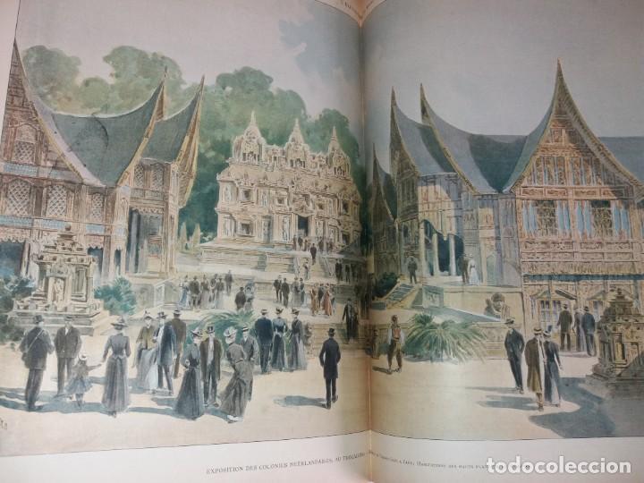 Libros antiguos: ESPECTACULAR EXPOSICION UNIVERSAL PARIS 1900 MONUMENTAL LIBRO 37 cm - Foto 47 - 198258843