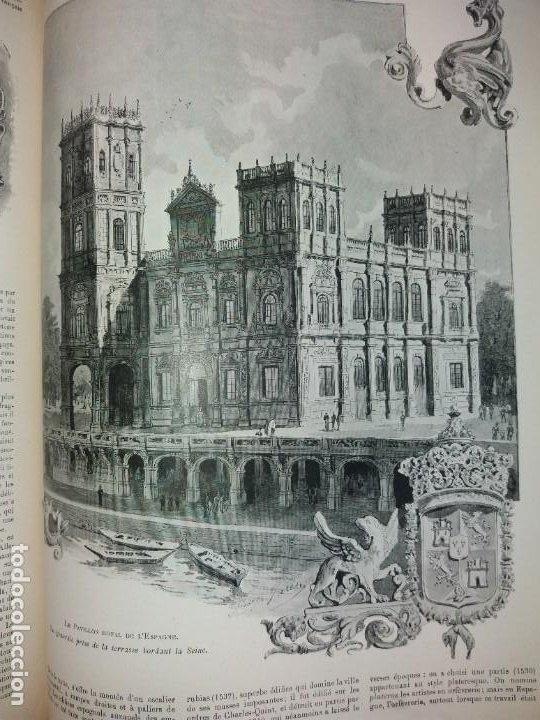 Libros antiguos: ESPECTACULAR EXPOSICION UNIVERSAL PARIS 1900 MONUMENTAL LIBRO 37 cm - Foto 48 - 198258843