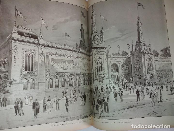 Libros antiguos: ESPECTACULAR EXPOSICION UNIVERSAL PARIS 1900 MONUMENTAL LIBRO 37 cm - Foto 49 - 198258843