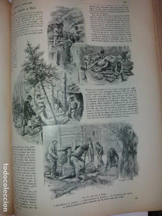 Libros antiguos: ESPECTACULAR EXPOSICION UNIVERSAL PARIS 1900 MONUMENTAL LIBRO 37 cm - Foto 52 - 198258843