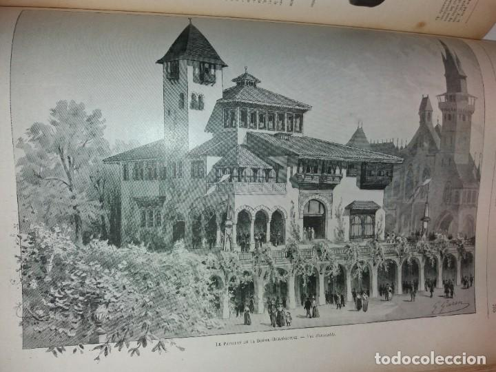 Libros antiguos: ESPECTACULAR EXPOSICION UNIVERSAL PARIS 1900 MONUMENTAL LIBRO 37 cm - Foto 54 - 198258843