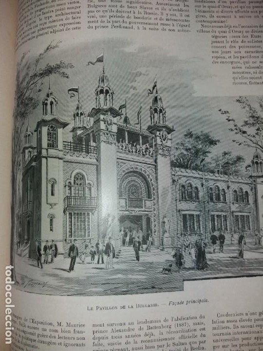 Libros antiguos: ESPECTACULAR EXPOSICION UNIVERSAL PARIS 1900 MONUMENTAL LIBRO 37 cm - Foto 55 - 198258843