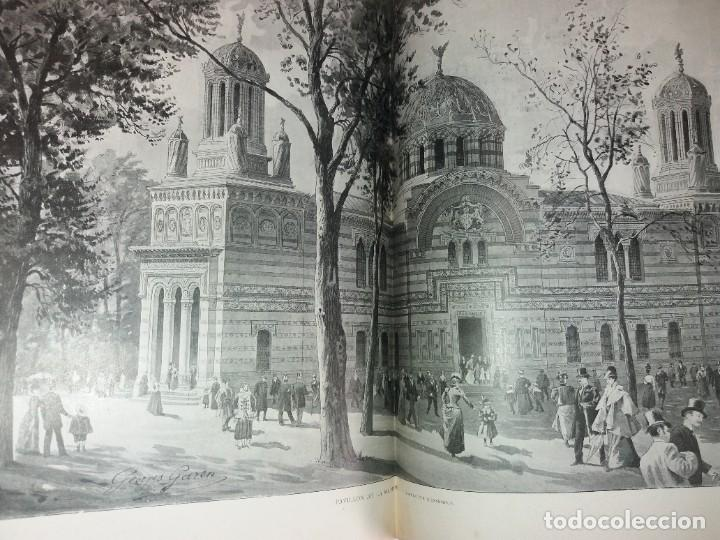 Libros antiguos: ESPECTACULAR EXPOSICION UNIVERSAL PARIS 1900 MONUMENTAL LIBRO 37 cm - Foto 56 - 198258843