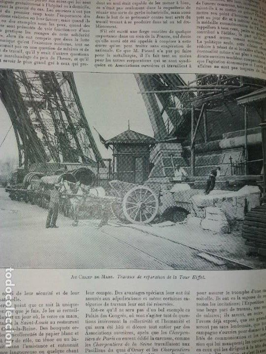 Libros antiguos: ESPECTACULAR EXPOSICION UNIVERSAL PARIS 1900 MONUMENTAL LIBRO 37 cm - Foto 57 - 198258843