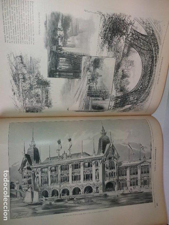 Libros antiguos: ESPECTACULAR EXPOSICION UNIVERSAL PARIS 1900 MONUMENTAL LIBRO 37 cm - Foto 61 - 198258843