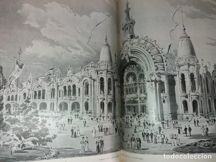 Libros antiguos: ESPECTACULAR EXPOSICION UNIVERSAL PARIS 1900 MONUMENTAL LIBRO 37 cm - Foto 62 - 198258843