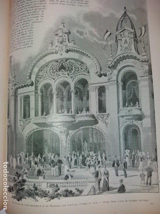 Libros antiguos: ESPECTACULAR EXPOSICION UNIVERSAL PARIS 1900 MONUMENTAL LIBRO 37 cm - Foto 65 - 198258843