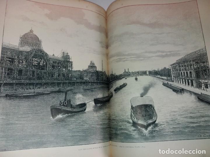 Libros antiguos: ESPECTACULAR EXPOSICION UNIVERSAL PARIS 1900 MONUMENTAL LIBRO 37 cm - Foto 66 - 198258843