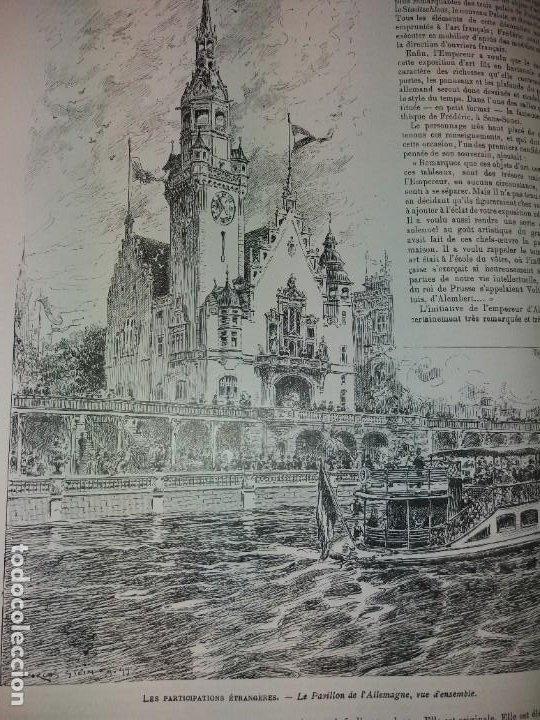 Libros antiguos: ESPECTACULAR EXPOSICION UNIVERSAL PARIS 1900 MONUMENTAL LIBRO 37 cm - Foto 67 - 198258843