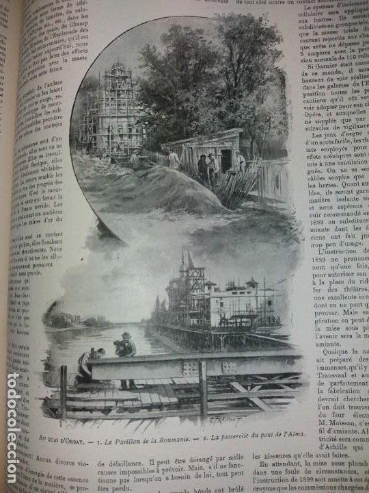 Libros antiguos: ESPECTACULAR EXPOSICION UNIVERSAL PARIS 1900 MONUMENTAL LIBRO 37 cm - Foto 68 - 198258843