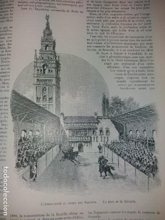 Libros antiguos: ESPECTACULAR EXPOSICION UNIVERSAL PARIS 1900 MONUMENTAL LIBRO 37 cm - Foto 70 - 198258843