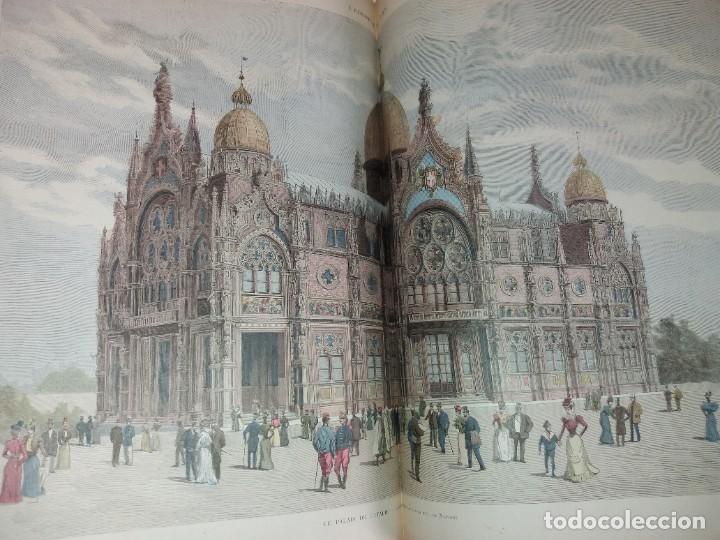 Libros antiguos: ESPECTACULAR EXPOSICION UNIVERSAL PARIS 1900 MONUMENTAL LIBRO 37 cm - Foto 71 - 198258843