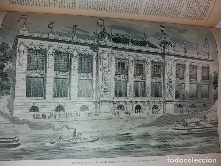 Libros antiguos: ESPECTACULAR EXPOSICION UNIVERSAL PARIS 1900 MONUMENTAL LIBRO 37 cm - Foto 73 - 198258843