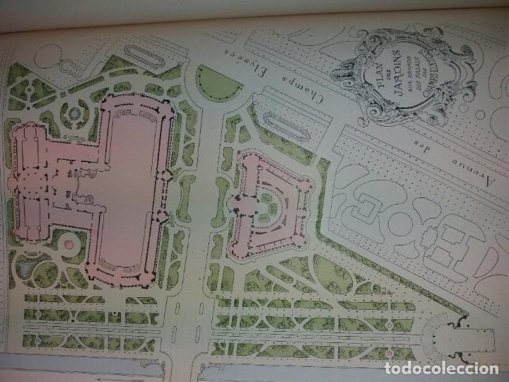 Libros antiguos: ESPECTACULAR EXPOSICION UNIVERSAL PARIS 1900 MONUMENTAL LIBRO 37 cm - Foto 75 - 198258843