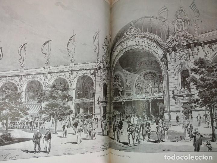Libros antiguos: ESPECTACULAR EXPOSICION UNIVERSAL PARIS 1900 MONUMENTAL LIBRO 37 cm - Foto 77 - 198258843