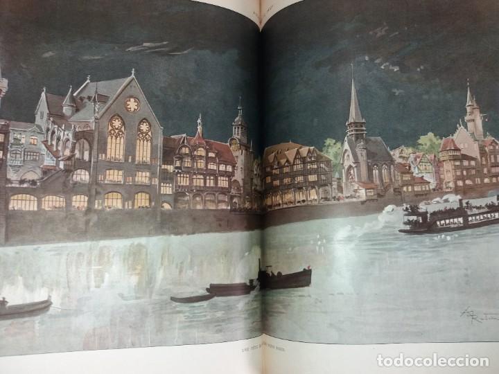 Libros antiguos: ESPECTACULAR EXPOSICION UNIVERSAL PARIS 1900 MONUMENTAL LIBRO 37 cm - Foto 79 - 198258843