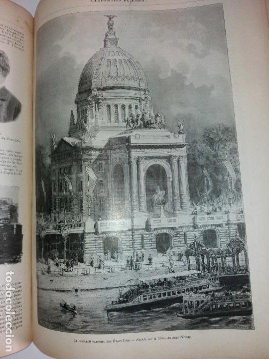 Libros antiguos: ESPECTACULAR EXPOSICION UNIVERSAL PARIS 1900 MONUMENTAL LIBRO 37 cm - Foto 81 - 198258843