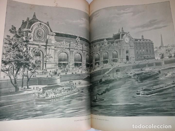 Libros antiguos: ESPECTACULAR EXPOSICION UNIVERSAL PARIS 1900 MONUMENTAL LIBRO 37 cm - Foto 82 - 198258843