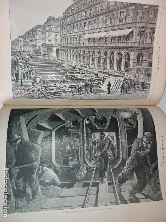 Libros antiguos: ESPECTACULAR EXPOSICION UNIVERSAL PARIS 1900 MONUMENTAL LIBRO 37 cm - Foto 83 - 198258843