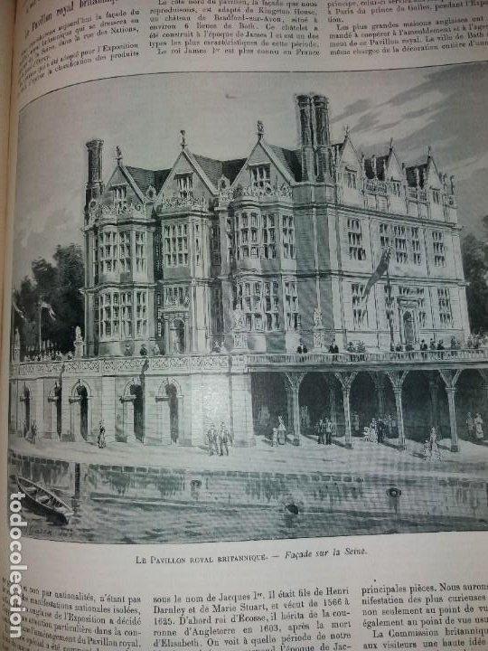 Libros antiguos: ESPECTACULAR EXPOSICION UNIVERSAL PARIS 1900 MONUMENTAL LIBRO 37 cm - Foto 84 - 198258843