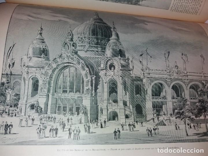 Libros antiguos: ESPECTACULAR EXPOSICION UNIVERSAL PARIS 1900 MONUMENTAL LIBRO 37 cm - Foto 86 - 198258843
