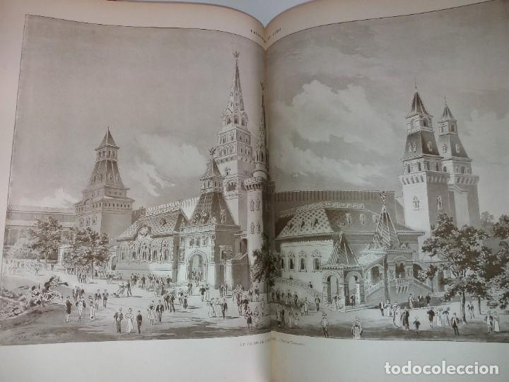 Libros antiguos: ESPECTACULAR EXPOSICION UNIVERSAL PARIS 1900 MONUMENTAL LIBRO 37 cm - Foto 92 - 198258843
