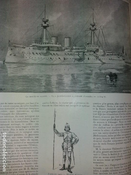 Libros antiguos: ESPECTACULAR EXPOSICION UNIVERSAL PARIS 1900 MONUMENTAL LIBRO 37 cm - Foto 93 - 198258843