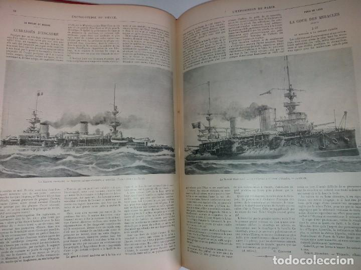 Libros antiguos: ESPECTACULAR EXPOSICION UNIVERSAL PARIS 1900 MONUMENTAL LIBRO 37 cm - Foto 96 - 198258843