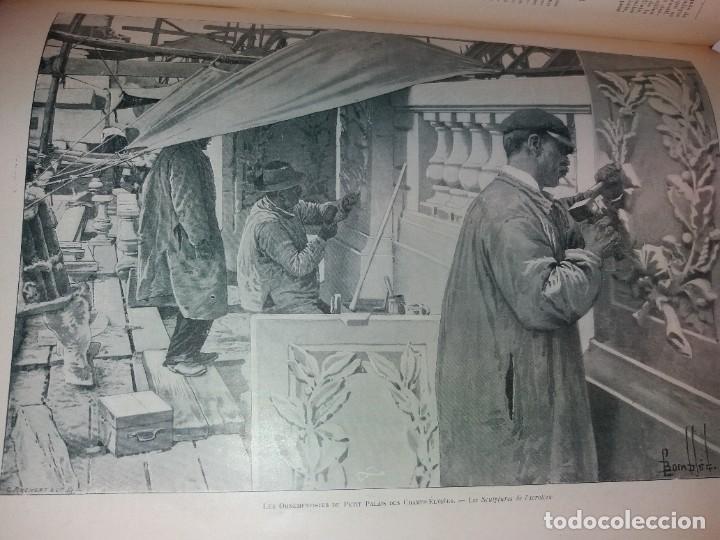 Libros antiguos: ESPECTACULAR EXPOSICION UNIVERSAL PARIS 1900 MONUMENTAL LIBRO 37 cm - Foto 97 - 198258843