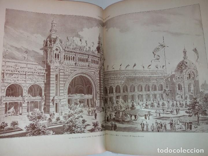 Libros antiguos: ESPECTACULAR EXPOSICION UNIVERSAL PARIS 1900 MONUMENTAL LIBRO 37 cm - Foto 98 - 198258843