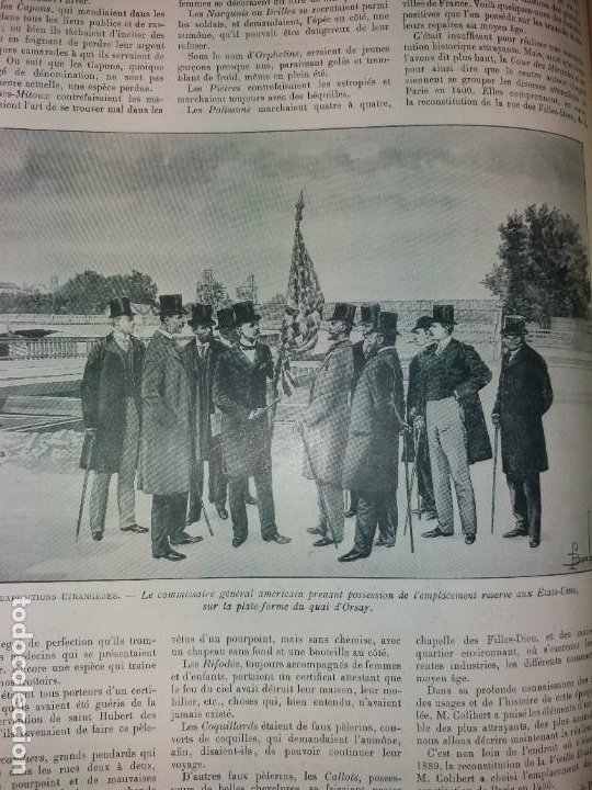 Libros antiguos: ESPECTACULAR EXPOSICION UNIVERSAL PARIS 1900 MONUMENTAL LIBRO 37 cm - Foto 99 - 198258843