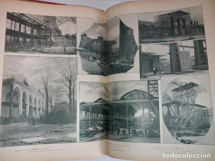 Libros antiguos: ESPECTACULAR EXPOSICION UNIVERSAL PARIS 1900 MONUMENTAL LIBRO 37 cm - Foto 100 - 198258843