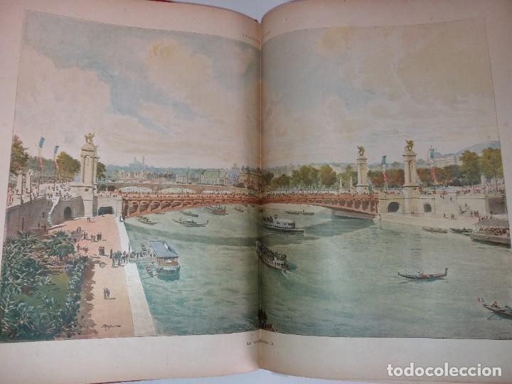 Libros antiguos: ESPECTACULAR EXPOSICION UNIVERSAL PARIS 1900 MONUMENTAL LIBRO 37 cm - Foto 102 - 198258843