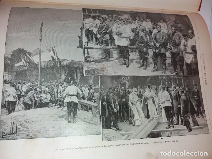 Libros antiguos: ESPECTACULAR EXPOSICION UNIVERSAL PARIS 1900 MONUMENTAL LIBRO 37 cm - Foto 103 - 198258843