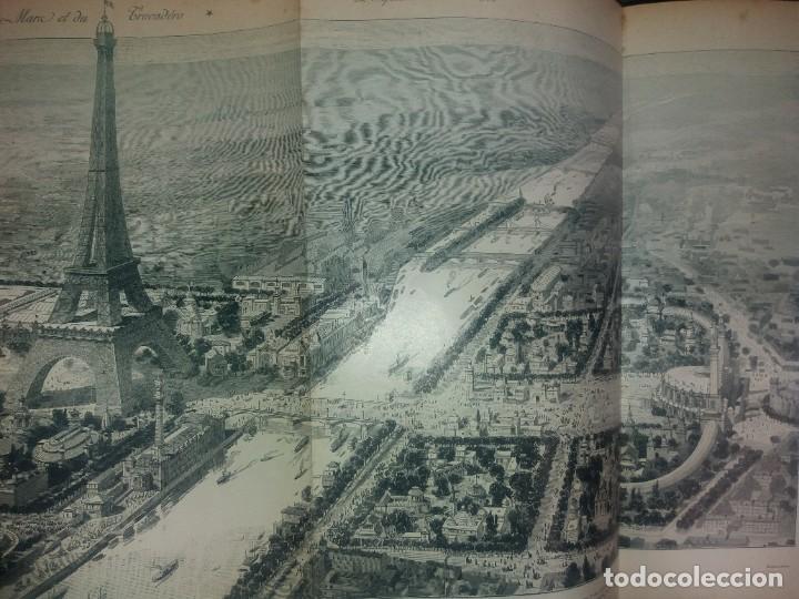 Libros antiguos: ESPECTACULAR EXPOSICION UNIVERSAL PARIS 1900 MONUMENTAL LIBRO 37 cm - Foto 108 - 198258843