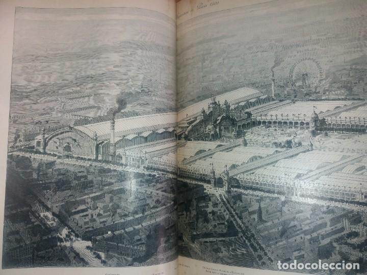 Libros antiguos: ESPECTACULAR EXPOSICION UNIVERSAL PARIS 1900 MONUMENTAL LIBRO 37 cm - Foto 109 - 198258843