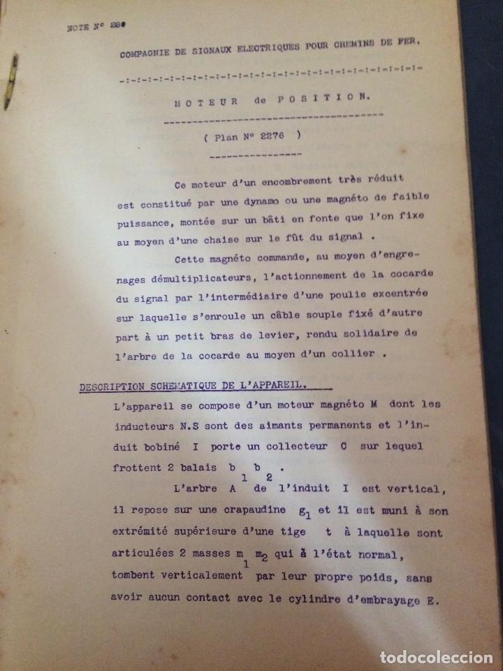 Libros antiguos: FRANCIA 1919 PROYECTO - Foto 2 - 198736636