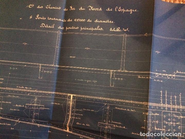 Libros antiguos: PUENTE GIRATORIO 1906 - Foto 4 - 198778676